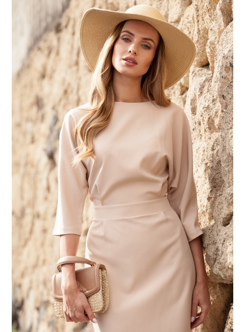Elegantiška rusva suknelė