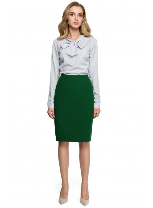 Žalias klasikinis sijonas