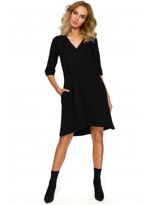 Daili juoda suknelė