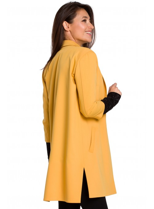 Ilgas geltonas švarkelis