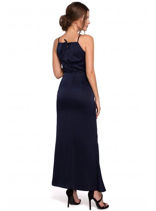 Smaragdo spalvos, ilga suknelė