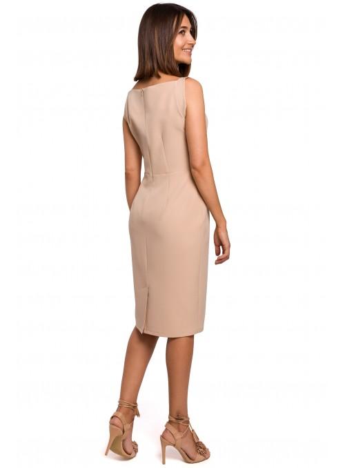 Šviesiai ruda suknelė