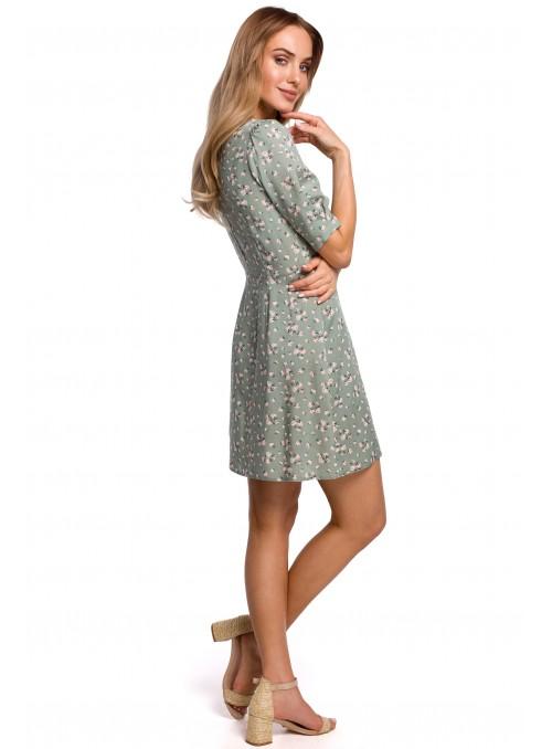 Rusva, marga suknelė