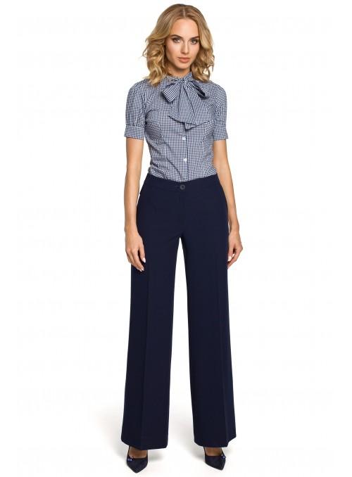 Stilingos mėlynos kelnės