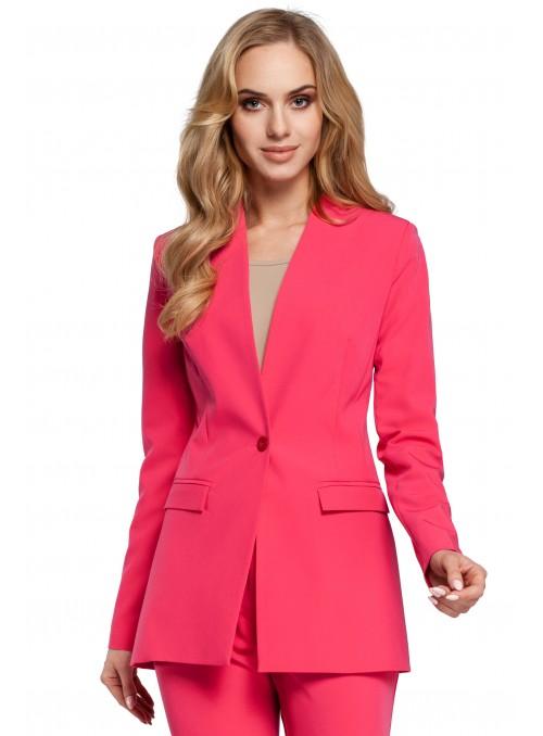 Rožinis švarkelis
