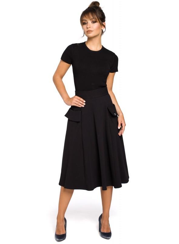 Žavus juodas sijonas