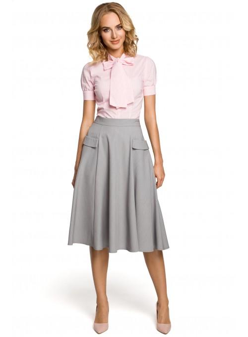 Dailus pilkas sijonas