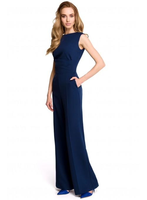 Elegantiškas mėlynas kombinezonas